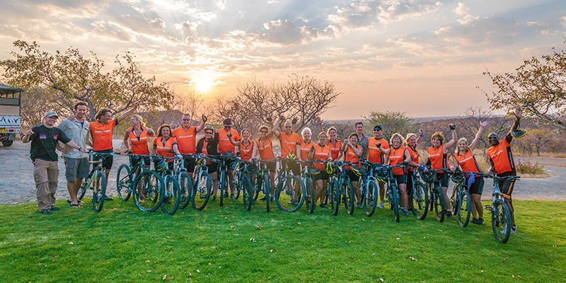 Orange Babies bikers-caring for the children of Namibia